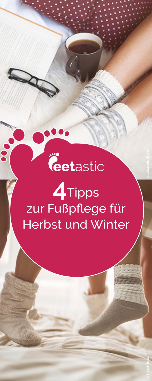 Wenn es draußen kälter wird, brauchen die Füße eine Extraportion Pflege. Wir verraten, worauf Sie im Herbst und Winter besonders bei der Fußpflege achten sollten.