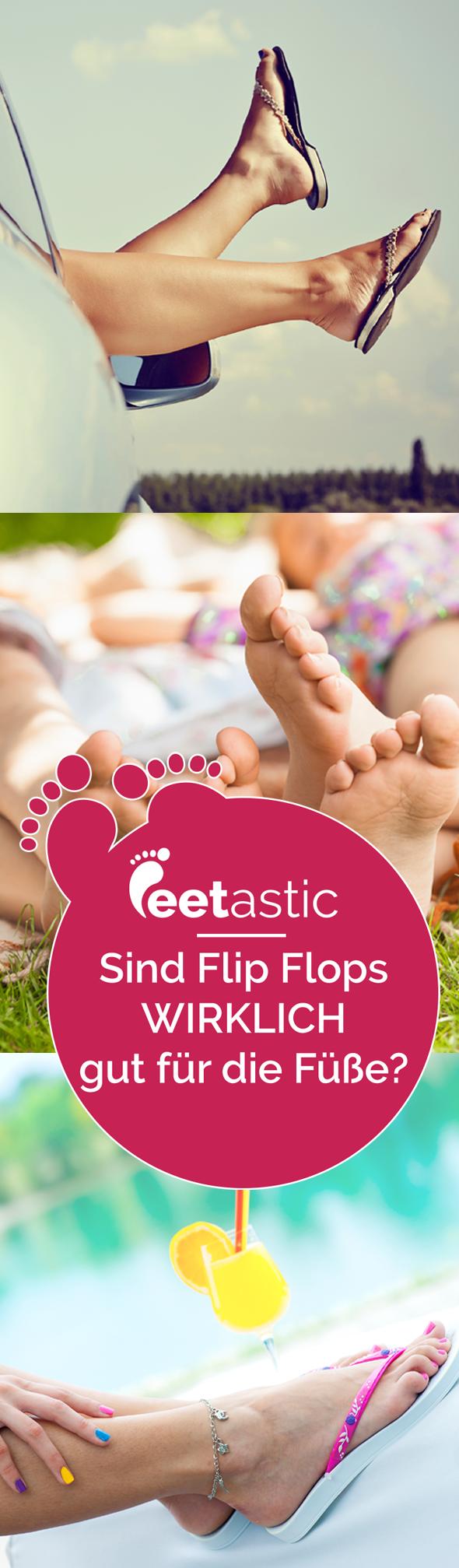 Hier verraten wir euch, ob Flip Flops unsere Gesundheit beeinflussen. Sind bequeme Flip Flops wirklich gesund und gut für unsere Füße?