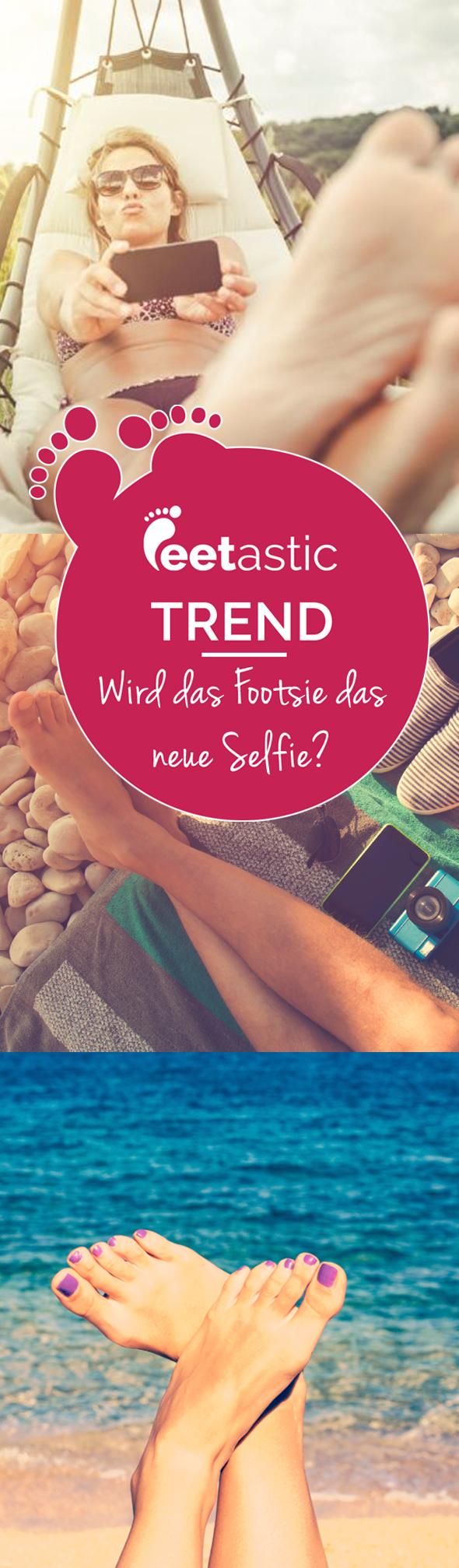 Das Footsie erobert die Online-Welt. Auf den Bildern sind meist nur Füße zu sehen. Viele Stars machen mit. Wir berichten über das Phänomen #Footsie.