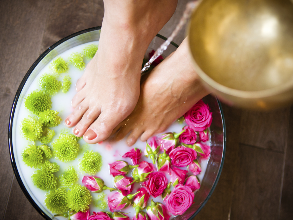 Homemade Foot Spa Recipes