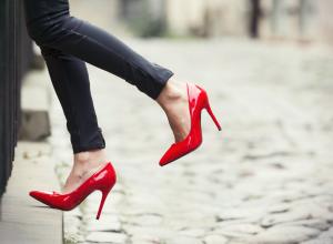 Frau in High Heels