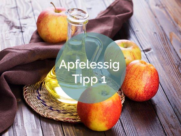 Apfelessig-Anwendungen