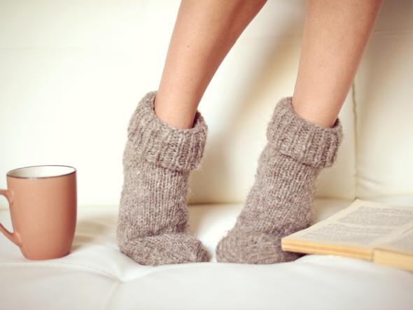 DIY Weihnachtsgeschenke für die Füße