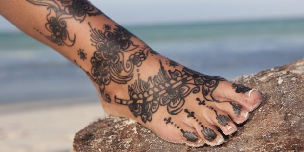 Fuß-Tattoo