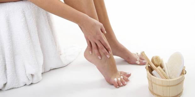 Fußpflege Schritt für Schritt