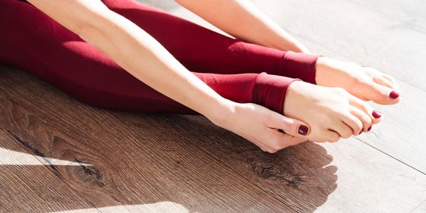 Pilates für die Füße