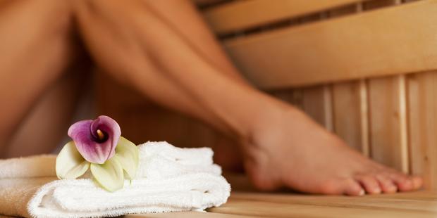 Sauna - Schutz und Pflege für Ihre Füße