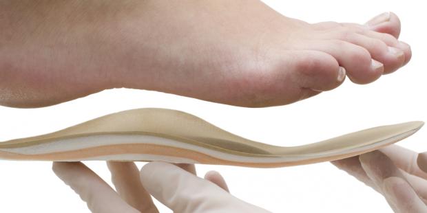 Orthopädische Einlagen