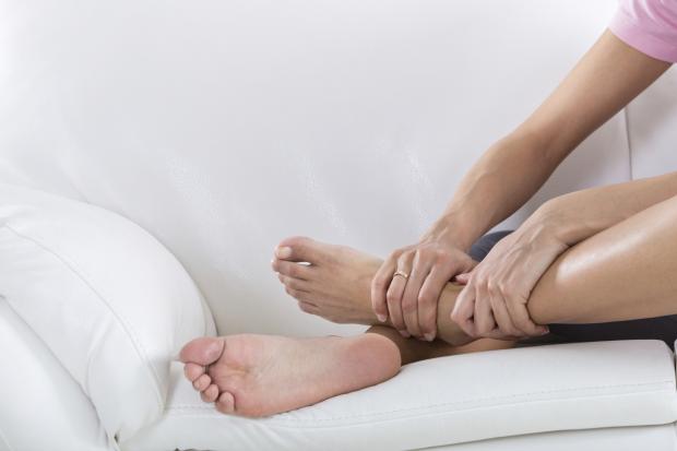 geschwollene Füße